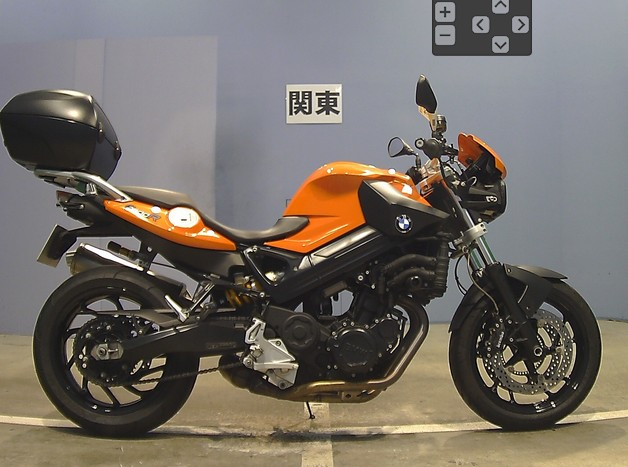BMW F800R Orange 2009 Highline Model